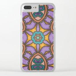 Mandala Mirror Clear iPhone Case