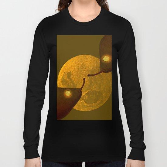 les mots d'amour sous la lune   (The words of love under the moon) Long Sleeve T-shirt