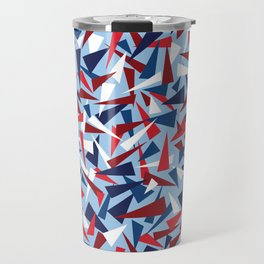 Break the Glass Ceiling! Red White & Blue Travel Mug