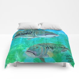 Bass Pairs Comforters