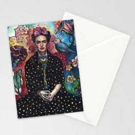 Frida Kahlo Portrait (4) Stationery Cards