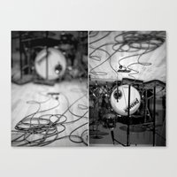 drums Canvas Prints featuring drums by Shayna Batya