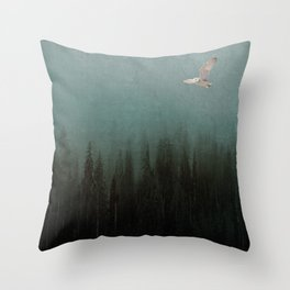 Look to the North Throw Pillow