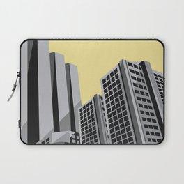 Modern City Yellow Sky Laptop Sleeve