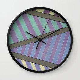 Zig Zag run Wall Clock