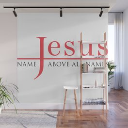 Christian,Bible Quote,Jesus, name above all names Wall Mural