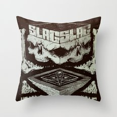 Pyramid Scheme Throw Pillow