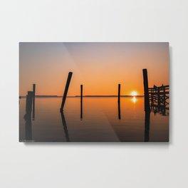 Reflections on the Horizon Metal Print