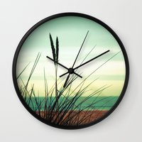dune Wall Clocks featuring Dune View by ALLY COXON