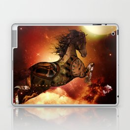 Steampunk, awesome steampunk horse Laptop & iPad Skin