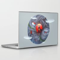 evil Laptop & iPad Skins featuring Evil by Valentina Gruer