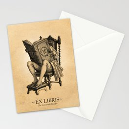Ex Libris 'The Inveterate Reader' Stationery Cards