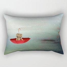 Danbo on tour I. Rectangular Pillow