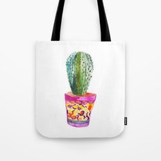 Cactus Watercolour Tote Bag