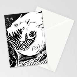 nigthmare Stationery Cards