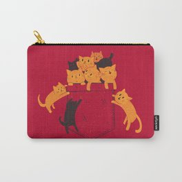 Pocket Cats Carry-All Pouch
