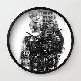 DreamCity Wall Clock