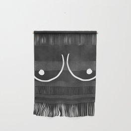 minimalist boobs Wall Hanging