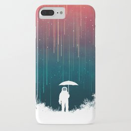 Meteoric rainfall iPhone Case