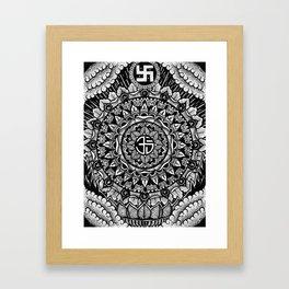 Buddhist Mandala  Framed Art Print