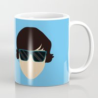submarine Mugs featuring Submarine by Loverly Prints