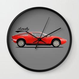 The Merak SS Wall Clock