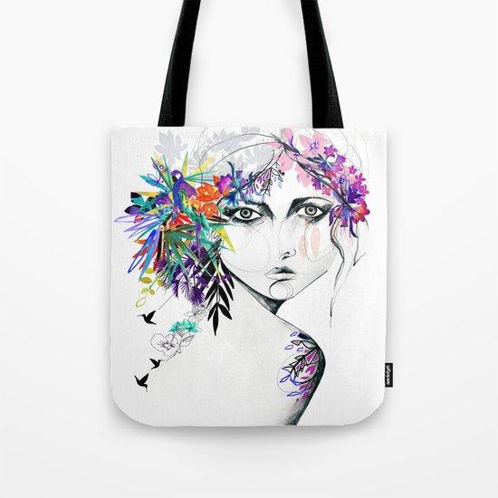 Exotic Girl Tote Bag