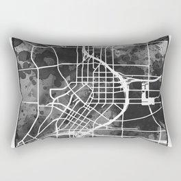 Atlanta City Map Rectangular Pillow