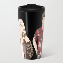 James and Alyssa Valentine Travel Mug