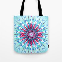 diamond Tote Bags featuring Diamond by Helen Kaur