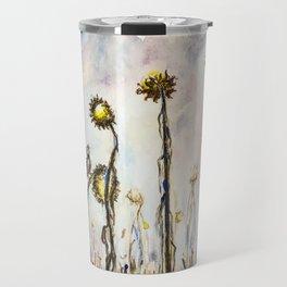 Bird Sings the Sunflower Blues Travel Mug