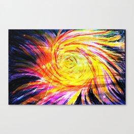 Energy Vortex Canvas Print