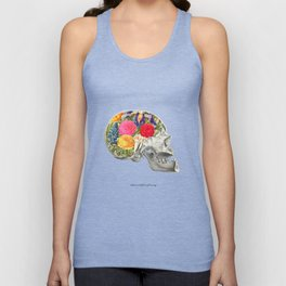 Politeness is the flower of humanity Unisex Tank Top