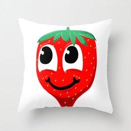 Fresa Throw Pillow