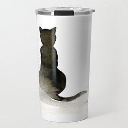 I Love Cats No. 2 by Kathy Morton Stanion Travel Mug