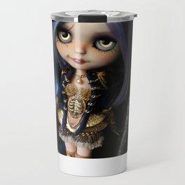 LADY BUCCANEER PIRATE OOAK BLYTHE ART DOLL Travel Mug