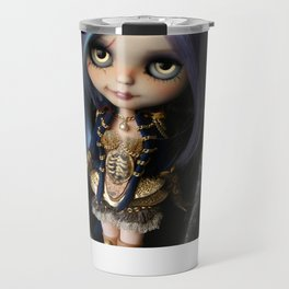 LADY BUCCANEER PIRATE OOAK BLYTHE ART DOLL Travel Mug