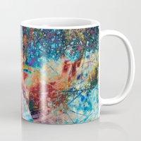 splatter Mugs featuring Splatter by Stephen Linhart
