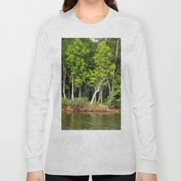 Enchanted Celtic Forest Long Sleeve T-shirt