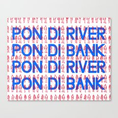 Pon di River Canvas Print