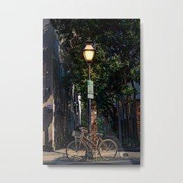 Bicycle in Charleston Metal Print