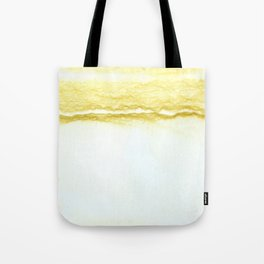 Yellow Surf Tote Bag