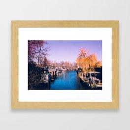 Berlin Spree View* Framed Art Print