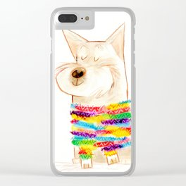 westie two Clear iPhone Case