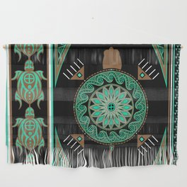 Green Turtle Wall Hanging