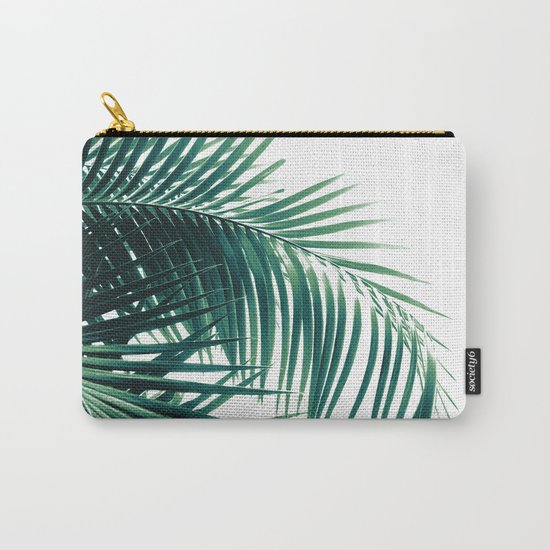 Palm Leaves Green Vibes #6 #tropical #decor #art #society6 by anitabellajantz