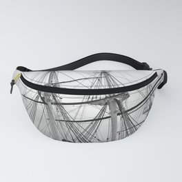 A Sail Warship The USS Constellation Fanny Pack