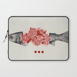 To Bloom Not Bleed II Laptop Sleeve