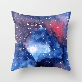 Journey Into Space Throw Pillow