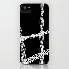 Criss Cross #3 iPhone Case